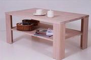 Столик кофейный из древесины бука.