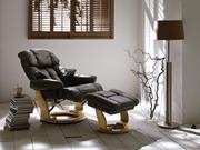 Полтава Кресло Relax Кожаное кресло реклайнер для дома и офиса Relax К